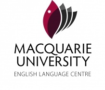 Macquarie Unversity English Language Centre